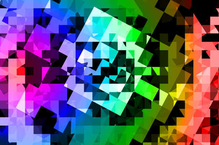 abstract multicolor background square pattern for template