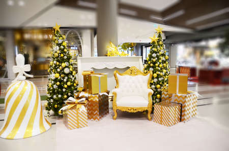 luxury vintage chair for Christmas celebration