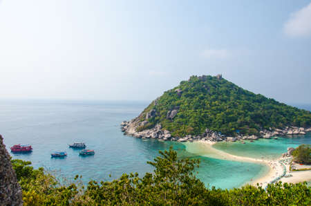 KOH TAO beautiful beach in southern of Thailand