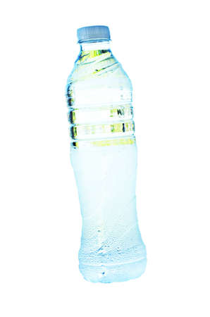 bottle of water on white background Stock Photo