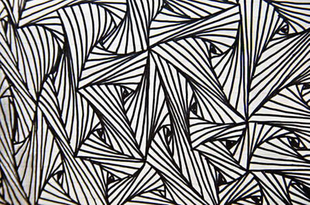 pencil art line for pattern background