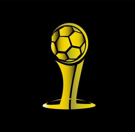 soccer trophy logo