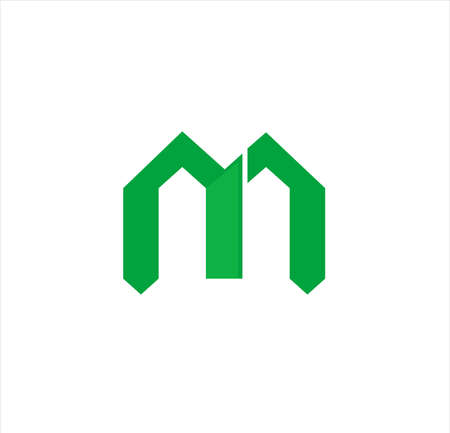 modern minimal vector logo for business of technology, network, residence, marketing, real estate, university and medical company 向量圖像