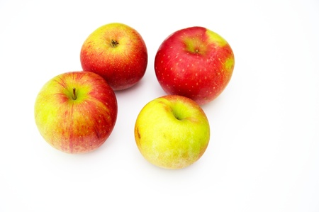 Photo of four apples