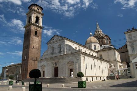 Photo of the Turin cathedral Zdjęcie Seryjne