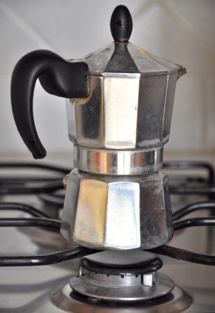 percolator: This is a Coffee percolator Stock Photo