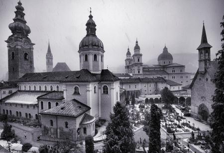 Churchs of Salzburg in Europe