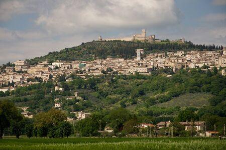 Photo of Assisi city in Umbria