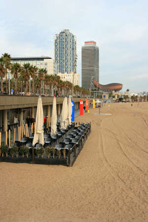 A view of Barcellona city photo