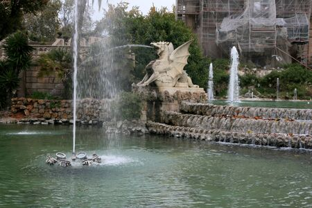Photo of historic fountain in Spain photo