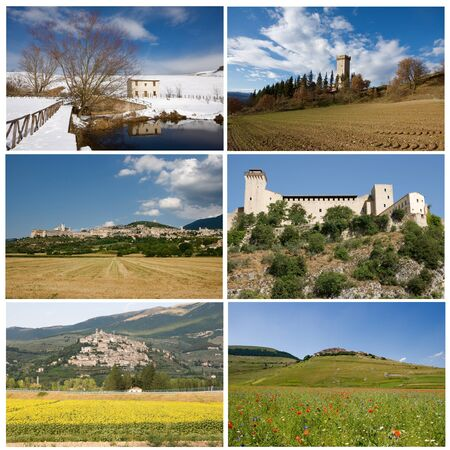 More images about umbria villages Stock Photo