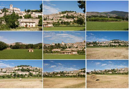 spello: Images of Spello in Umbria Stock Photo