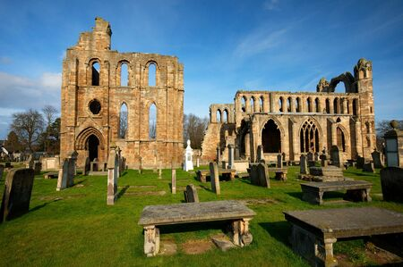 Ancient Elgin Cathedral, Highlands, Scotland. photo