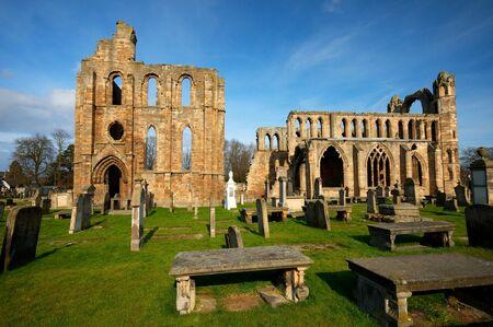 Ancient Elgin Cathedral, Highlands, Scotland.