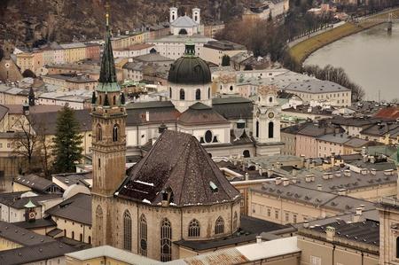 Two churchs of Salzburg