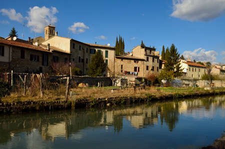bevagna: The river Clitunno on Bevagna