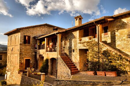 bevagna: A view of Bevagna in Umbria Editorial