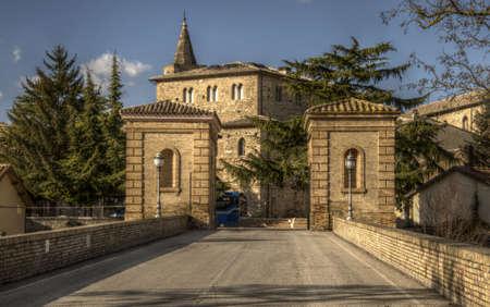 bevagna: HDR image of Bevagna village
