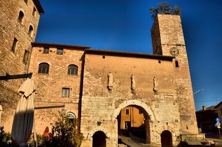 spello: A view of Spello in Umbria