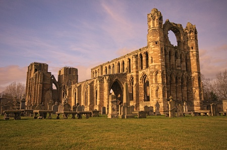 Elgin cathedral in Scotland - HDR
