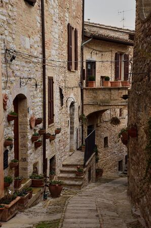 Spello is a medieval village in umbria Stock Photo - 12658951