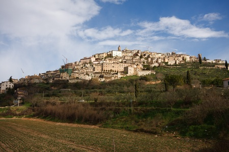 Picture of Trevi in Umbria Stock Photo - 12659210