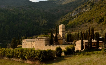 Saint Peter Abbey in Ferentillo