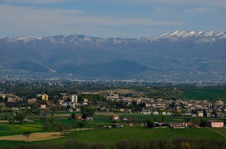 Umbria in the spring season Stock Photo - 13119612