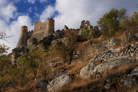 Rocca Calascio in Abruzzo Zdjęcie Seryjne - 13289829