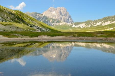 abruzzo: Gran Sasso in Abruzzo