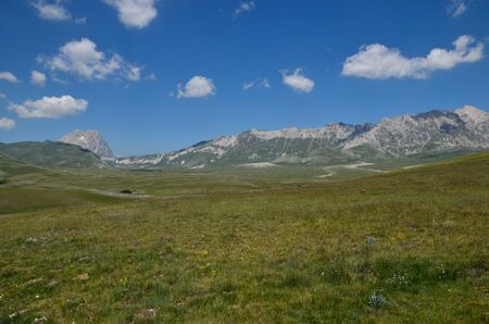 abruzzo: High mountains in Abruzzo region Stock Photo