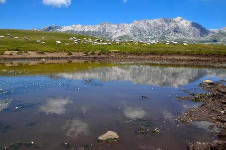 abruzzo: Abruzzo mountain in Italy