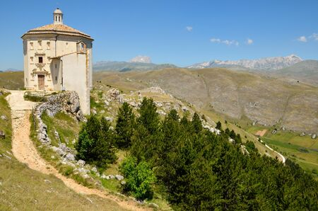 Mountain church in Abruzzo