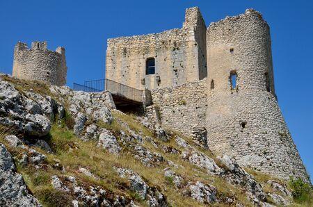 Panoramic view of Rocca Calascio Stock Photo - 14092840