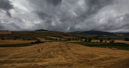 Umbria landscape in the summer photo