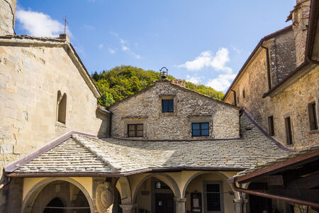 Sanctuary of Chiusi della Verna in Tuscany - Italy.