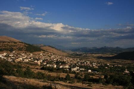 abruzzo: Abruzzo village in the mountain