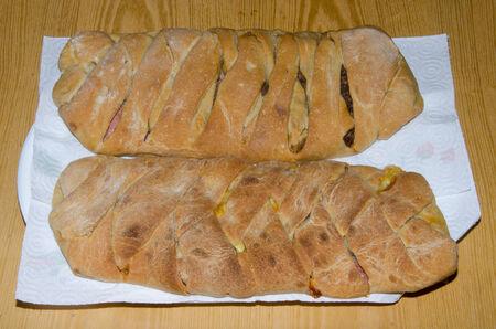 braiding: Image of  two braiding bread