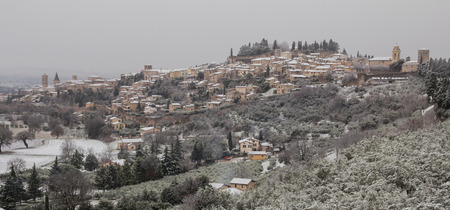 spello: Spello under the snow