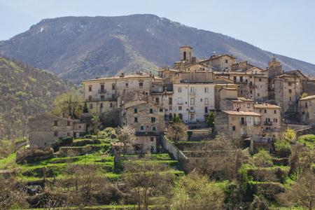 abruzzo: Photo of Scanno village in Abruzzo