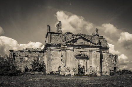 ghost town: Photo of Monterano ghost town in Lazio, Italy