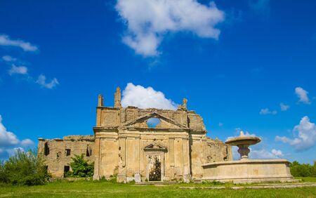 Church of San Bonaventura, Monterano, Lazio, Italy photo
