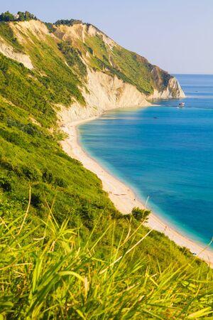Image of the coast from Mount Conero Zdjęcie Seryjne