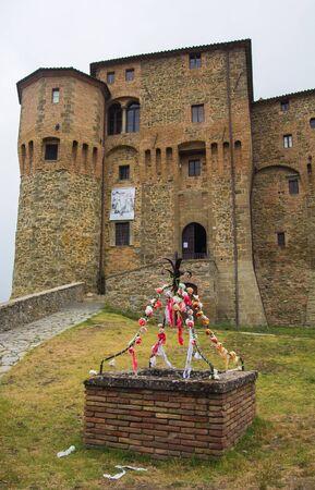 santagata: Photo of SantAgata Feltria castle Editorial