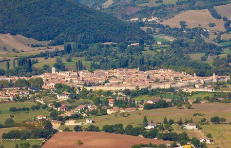 Photo of Norcia in Umbria Stock Photo