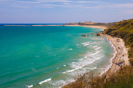 The beach of Punta Penna in Abruzzo