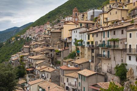Medieval village of Paganico in Lazio