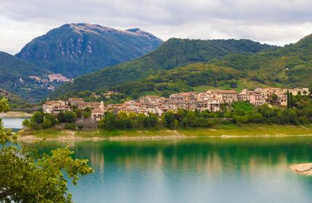 tora: Beautiful view of Colle di Tora Stock Photo