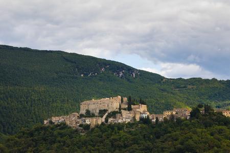 lazio: Photo of Roccasinibalda in lazio Stock Photo