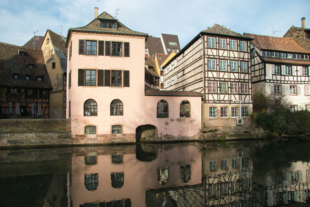 The petite France of Strasbourg in Alsace